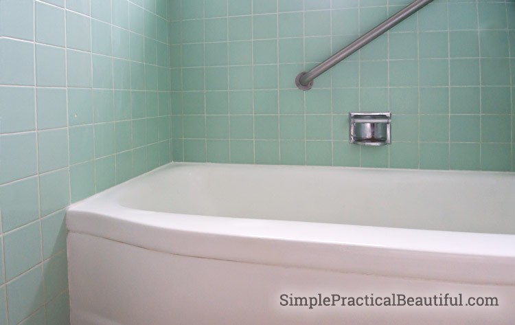 bathroom bathtub after tile refinishing before tub sink refinish resurfacing reglazing countertop cost