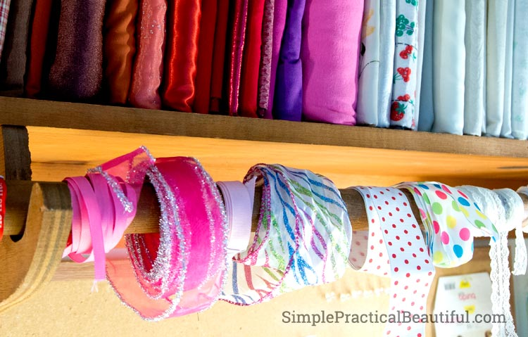 Mini Bolts of Fabric | SimplePracticalBeautiful.com