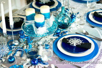 Setting a Holiday Table