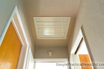 DIY Whole House Fan | SimplePracticalBeautiful.com