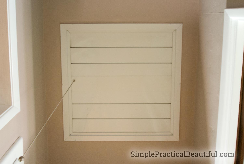 DIY Whole House Fan   SimplePracticalBeautiful.com
