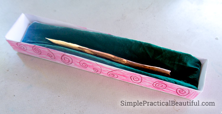 DIY Harry Potter Wands | SimplePracticalBeautiful.com