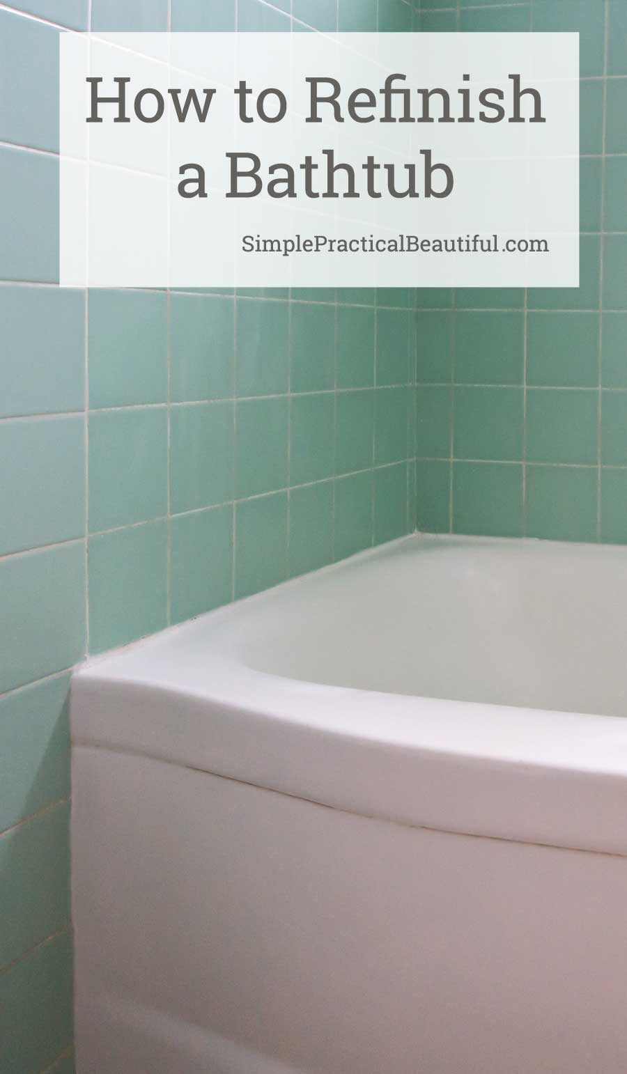 My Experience Refinishing A Bathtub With Rust Oleum Tub