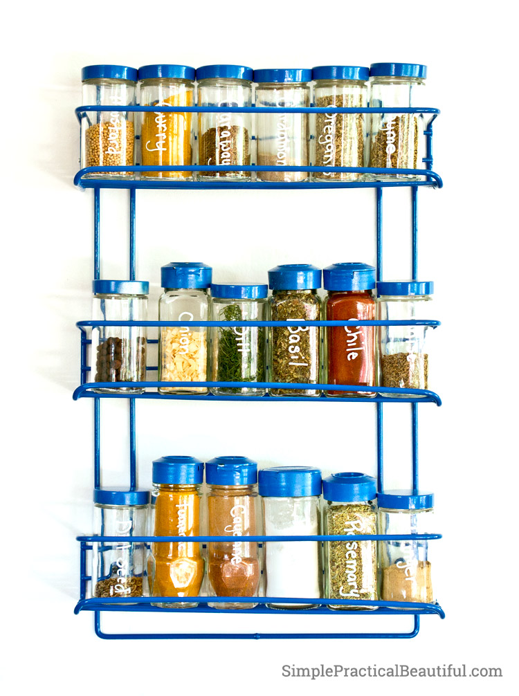 Updated spice rack
