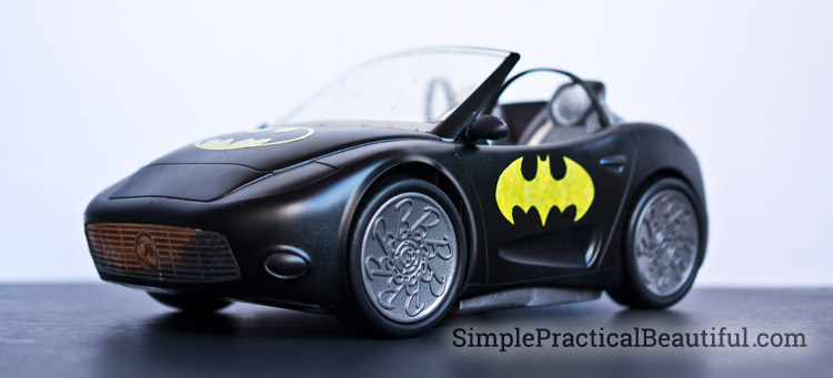 DIY Barbie Batmobile