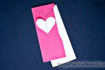 Create your own Valentine's Day card