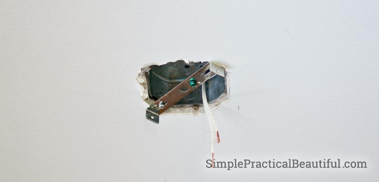 Tips and tutorial on connecting the wiring and install a pendant light