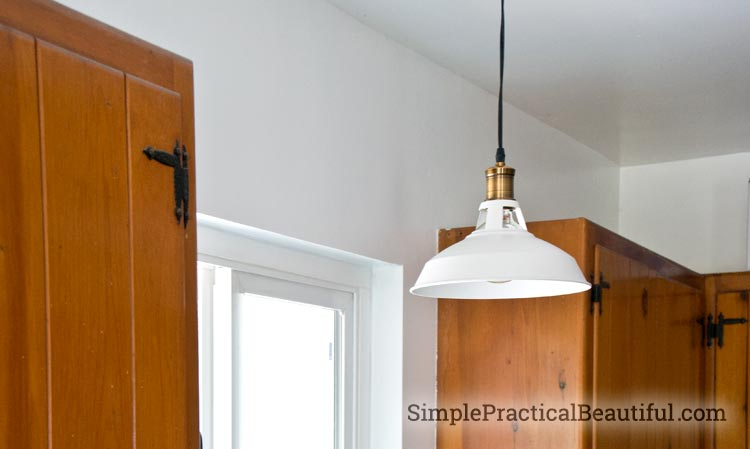 A retro-style light from Parrot Uncle with tips of how to install a pendant light
