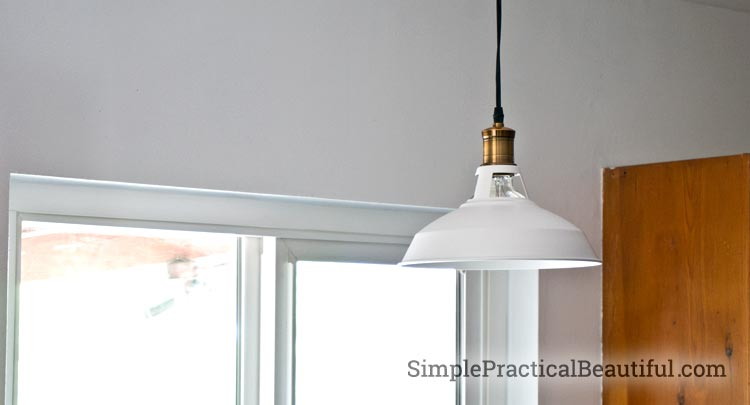 A retro-style light from Parrot Uncle with tips on how to install a pendant light