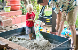 Learn how to build a kids' sandbox with this DIY tutorial