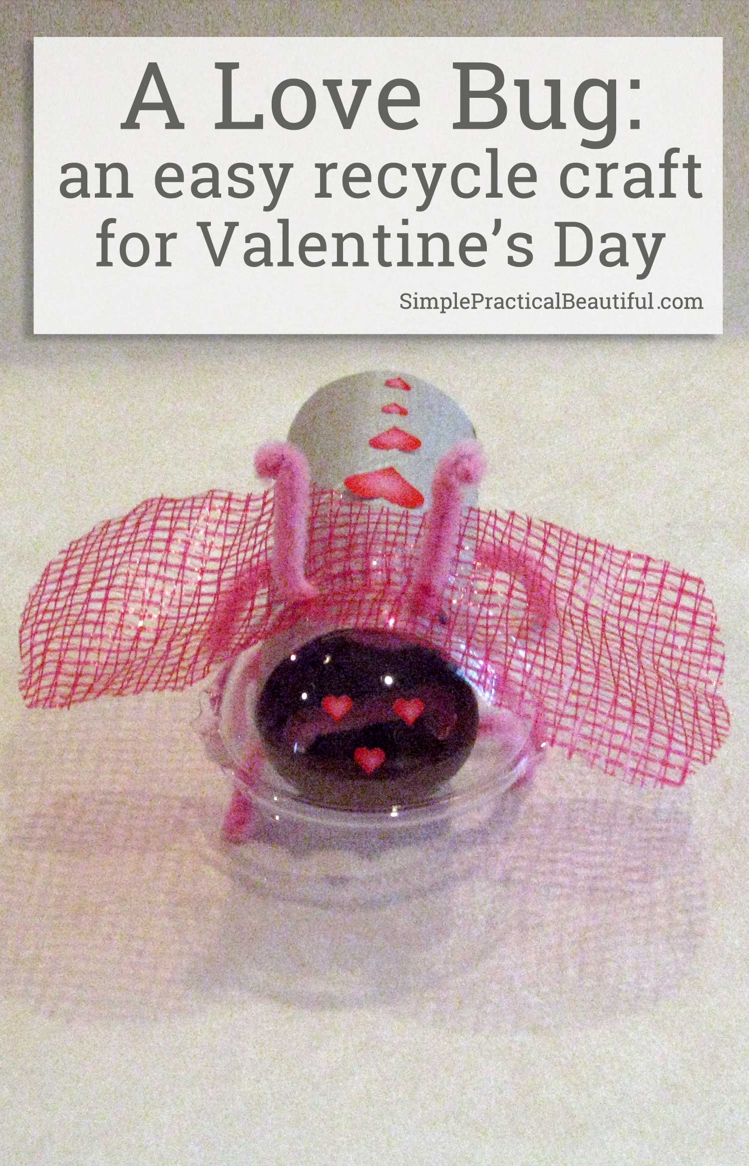 An easy recycle craft for kids, especially Cub Scouts. Perfect for Valentine's Day or the Blue and Gold Dinner decorations