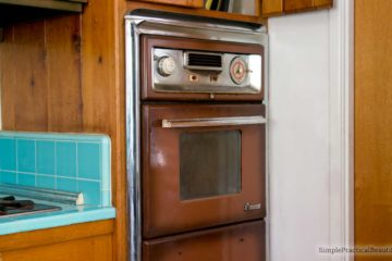 Our home improvement goals: to replace a vintage kitchen that is falling apart