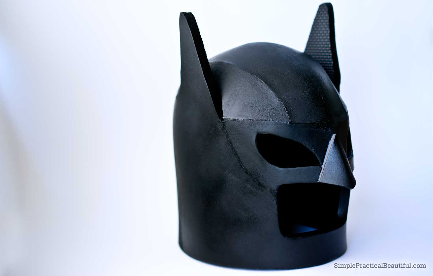 How to Make a LEGO Batman Helmet Simple Practical Beautiful