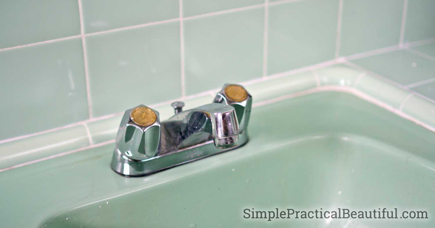 How Do You Replace A Bathroom Faucet How To Replace A Bathroom Faucet Easy Diy How To Change