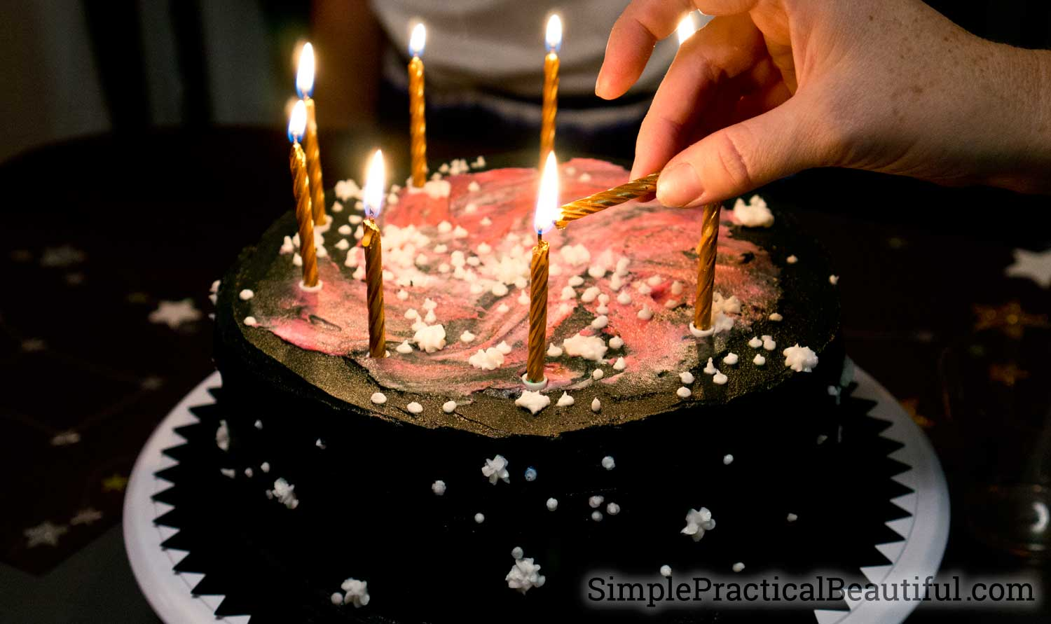 A Star Gazing Birthday Party Simple Practical Beautiful