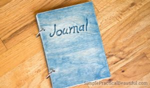How to make a personalized wood journal | Use thin plywood to make the cover for a custom notebook | handmade crafts