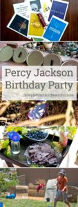 How to plan a Percy Jackson party including a free printable quest, craft ideas, invitations, and more. Host your birthday party at Camp Half-Blood