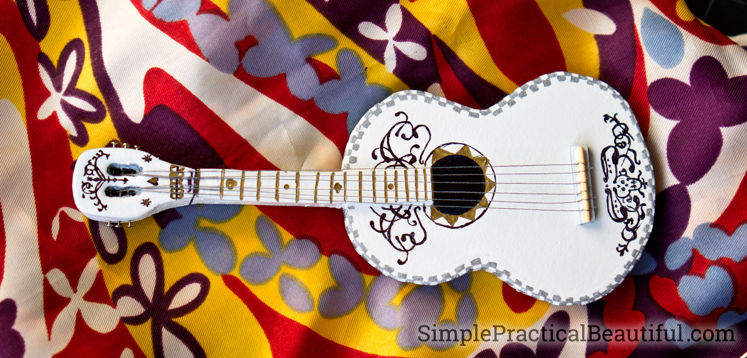 Coco Guitar Simple Practical Beautiful