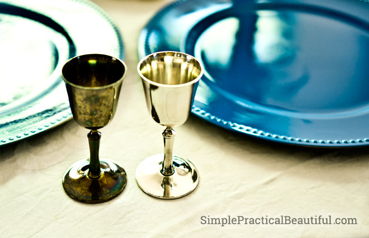 Setting a Table with Polished Silver