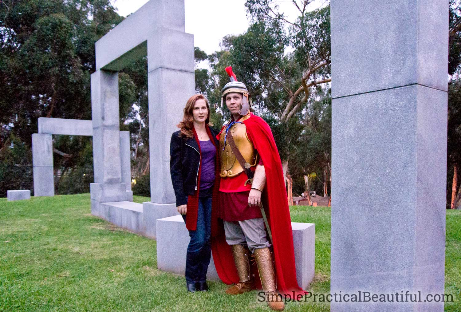 Rory Williams, the Last Centurion, and Amy Pond, the Girl Who Waited, costumes