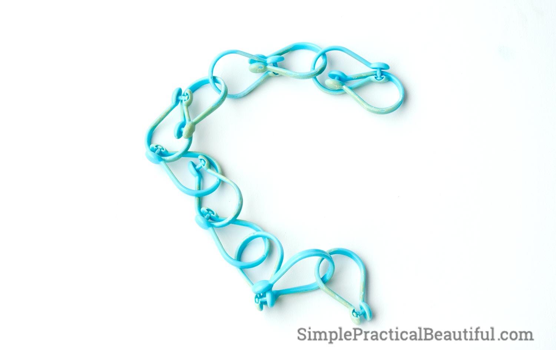 Simple Diy Scarf Holder Simple Practical Beautiful