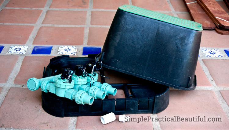 DIY Install sprinkler valves