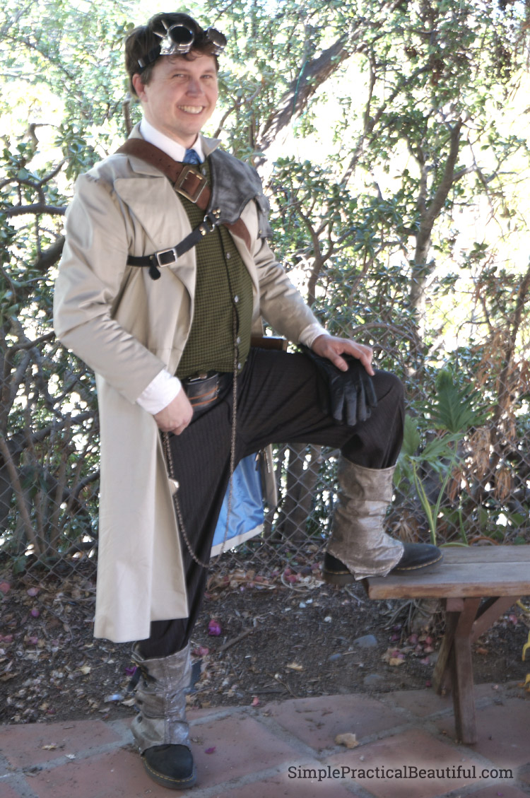 gentlemen's steampunk costume