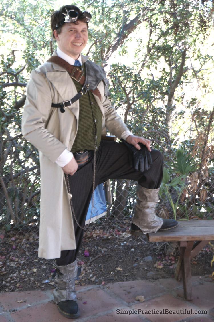 Gentleman S Diy Steampunk Costume Simple Practical Beautiful