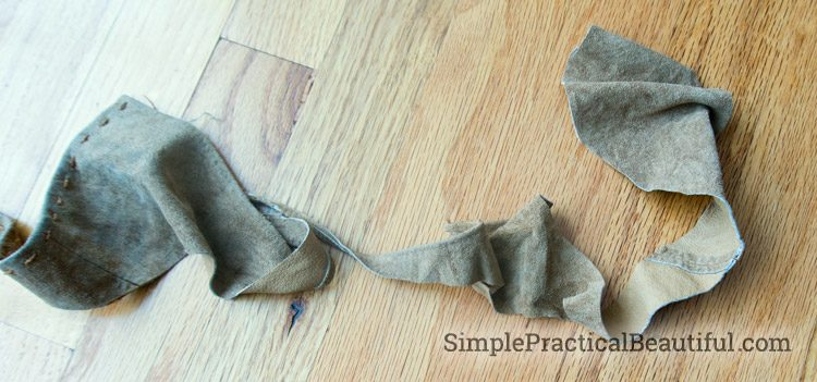 Making leather stiff for a DIY Harry Potter Sorting Hat