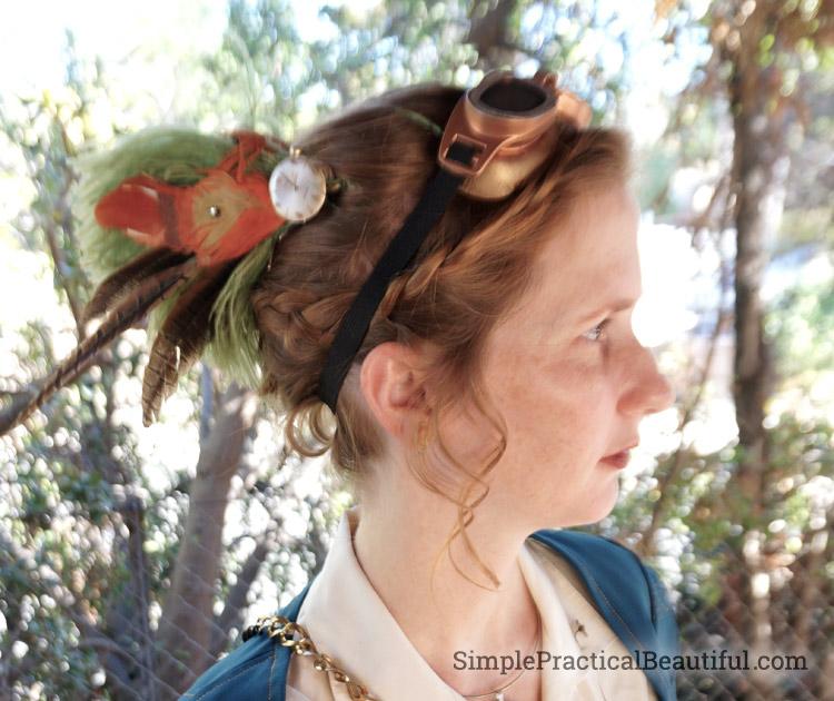 Steampunk Costume hairpiece