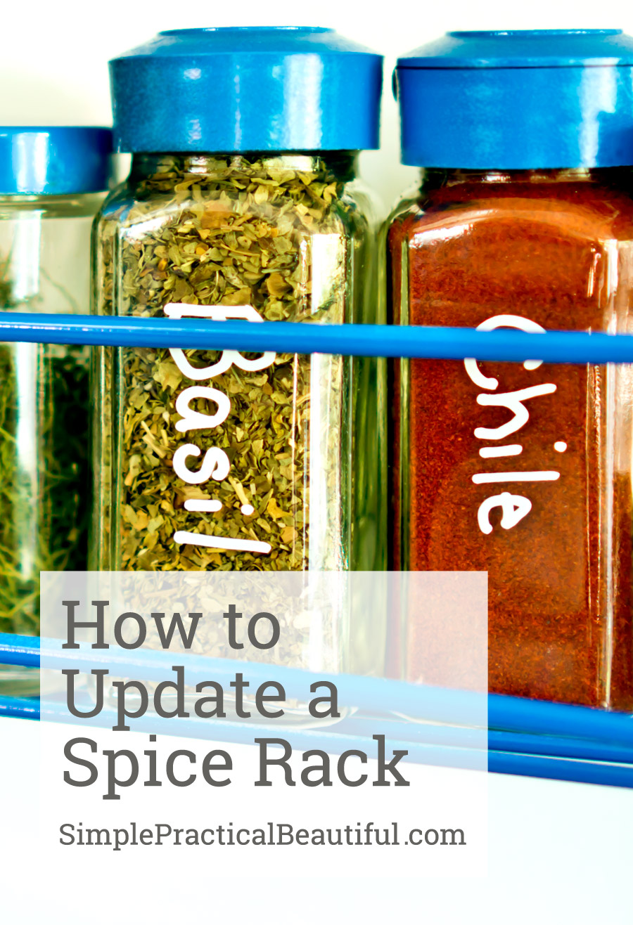 A tutorial on updating an old, eclectic set of spices