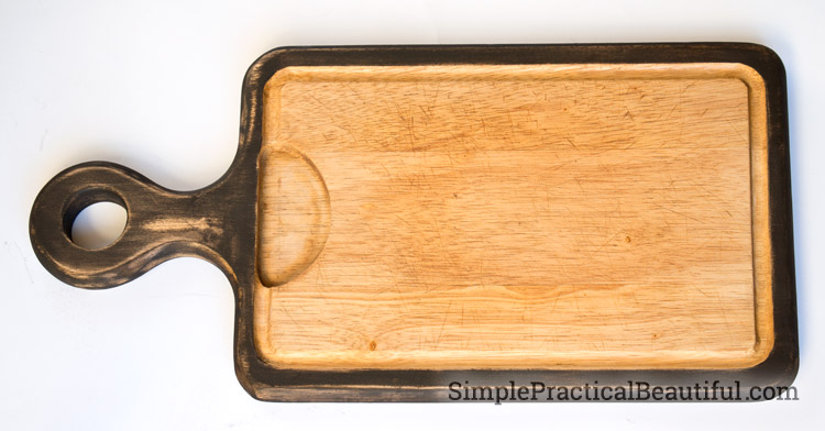 A refreshed cutting board