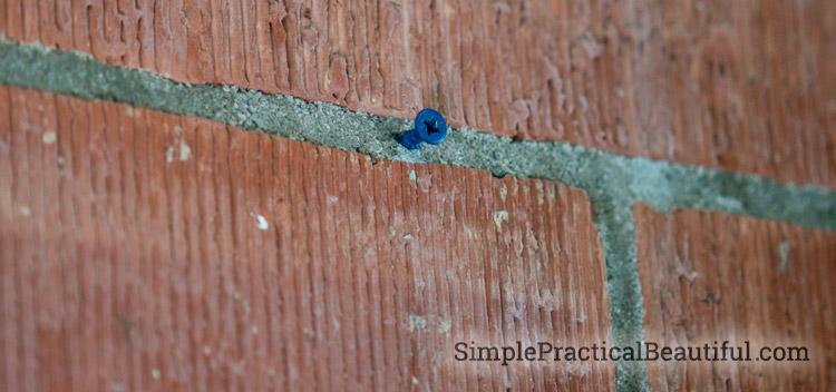 masonry-screw