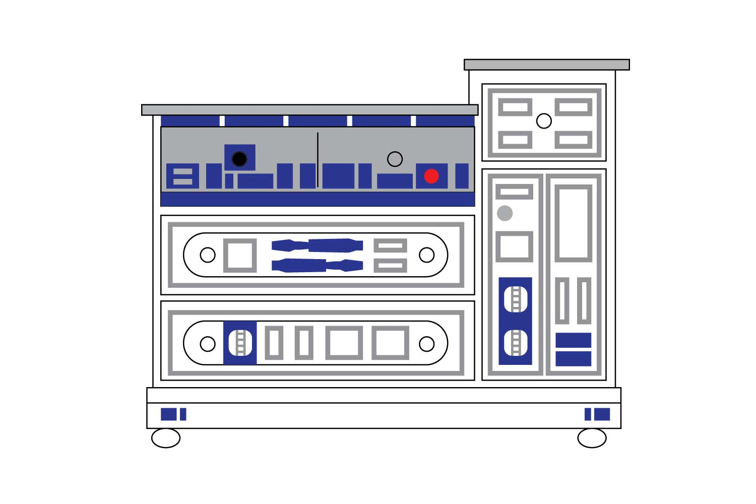 Our plan to make an R2D2 dresser for a Star Wars nursery or boy's room