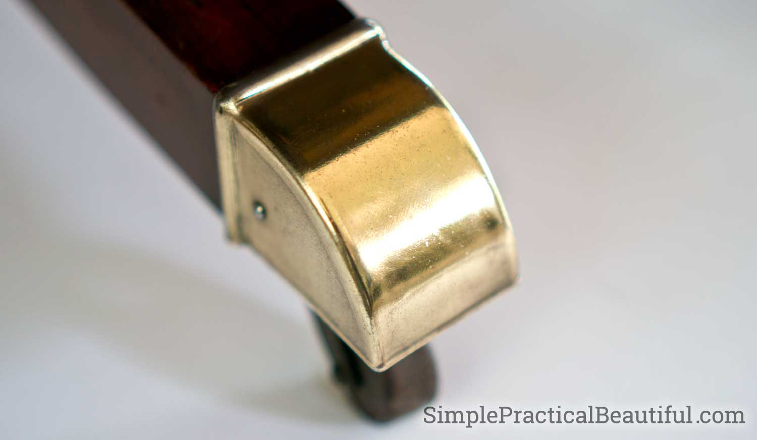 Learn how to keep brass shiny permanently