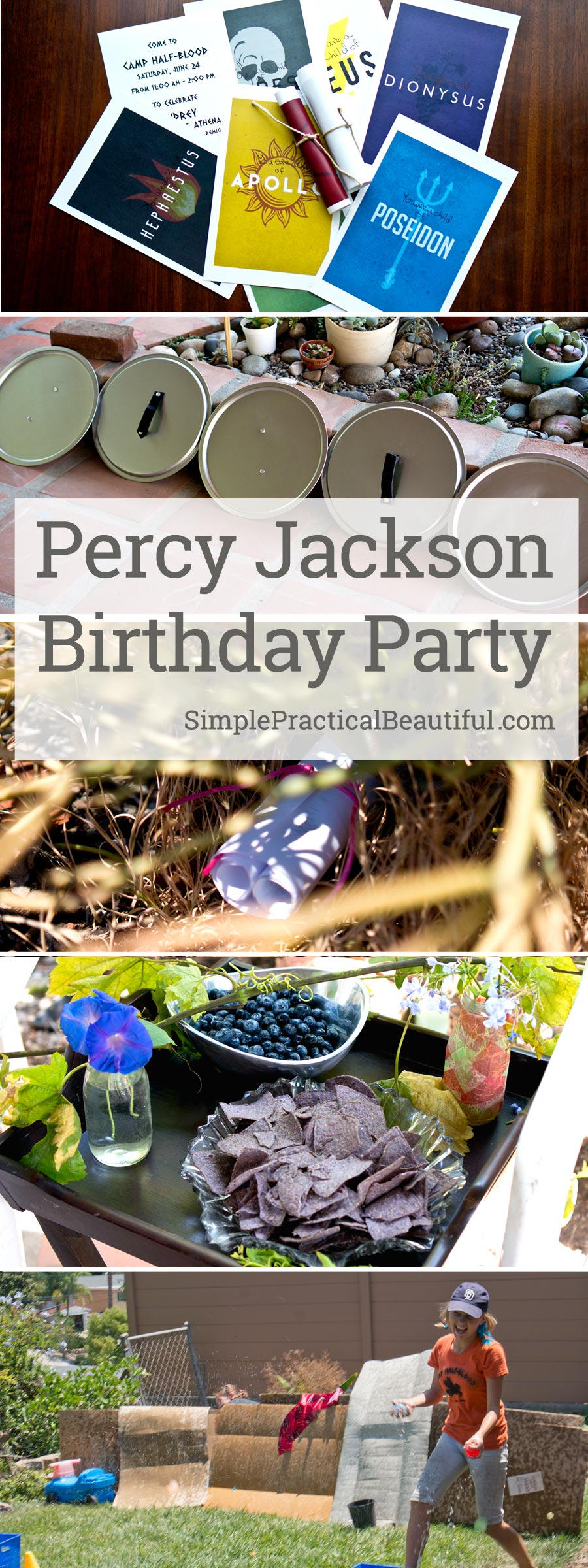 Percy Jackson Party Simple Practical Beautiful