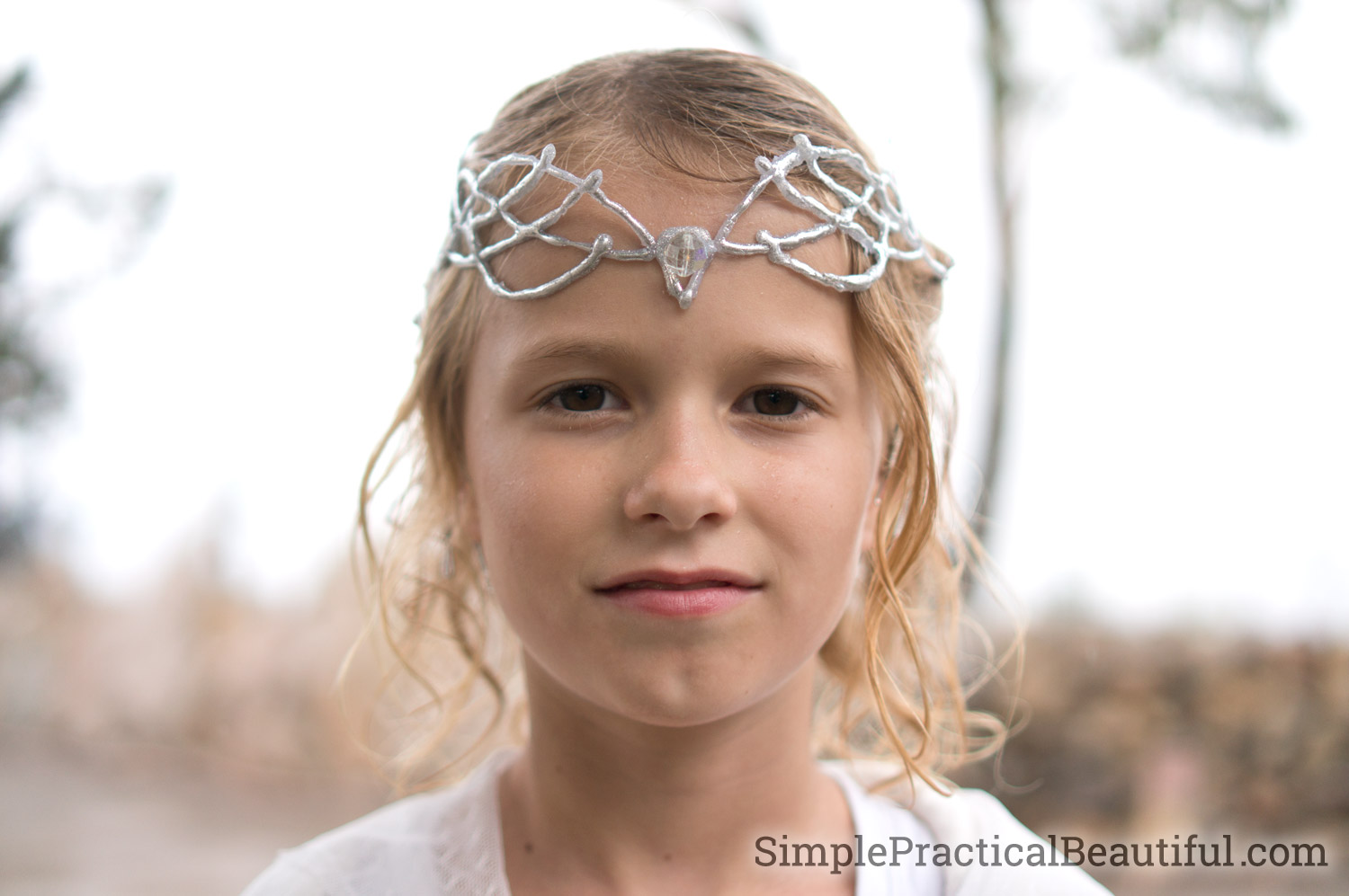 A Galadriel crown made for an elf queen costume