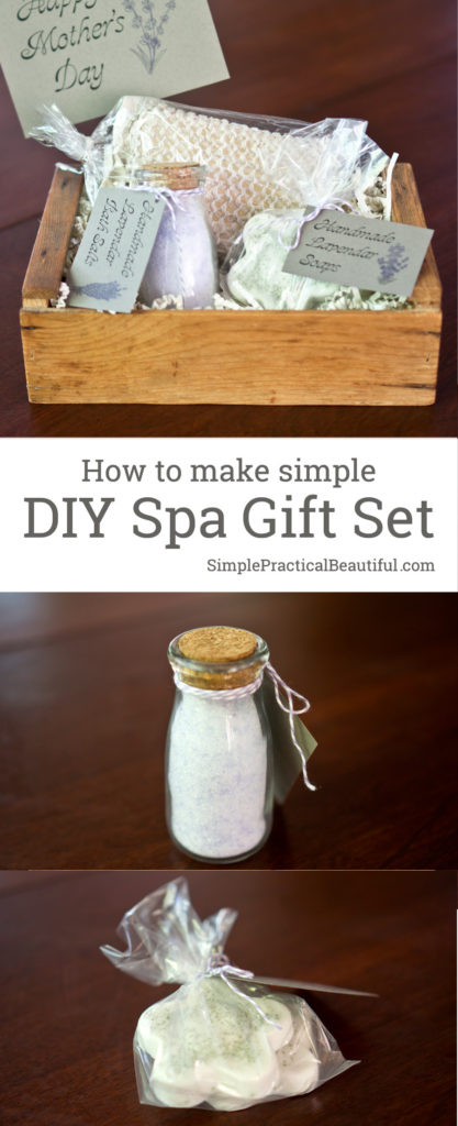 Diy Spa Gift Set Simple Practical Beautiful