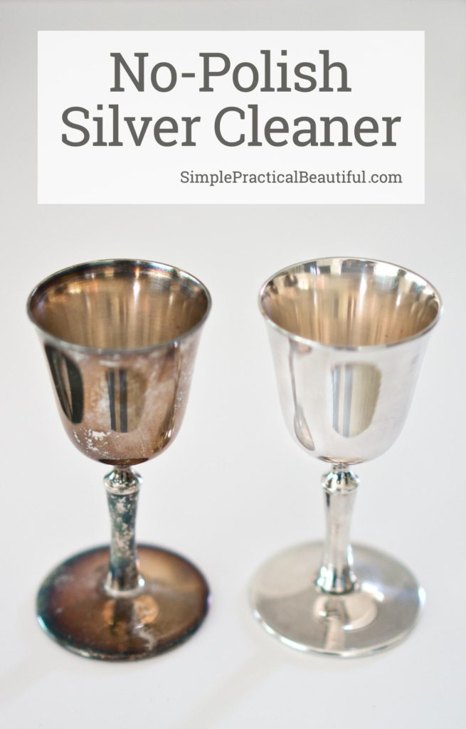How to clean silver without polishing | Remove tarnish from silver without polish