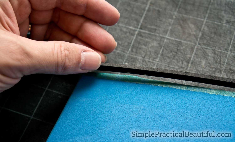 Adding a small foam detail on foam armor