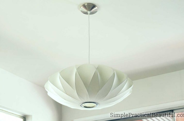 diy install of a nelson bubble light