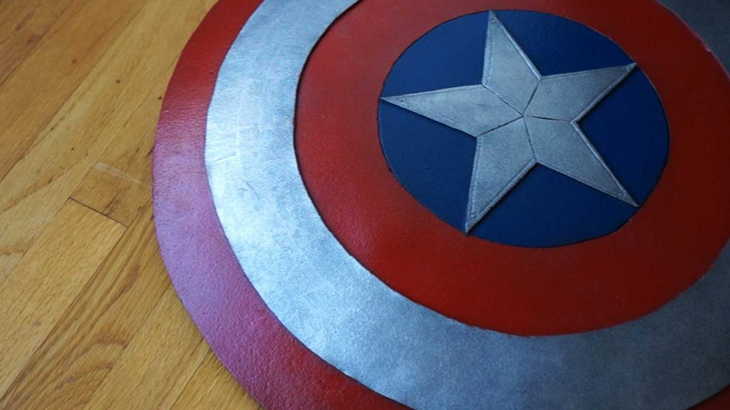 How To Make A Captain America Shield From Avengers Endgame Simple
