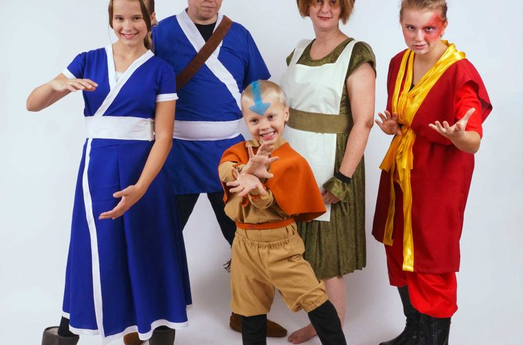 Avatar the Last Airbender family costume