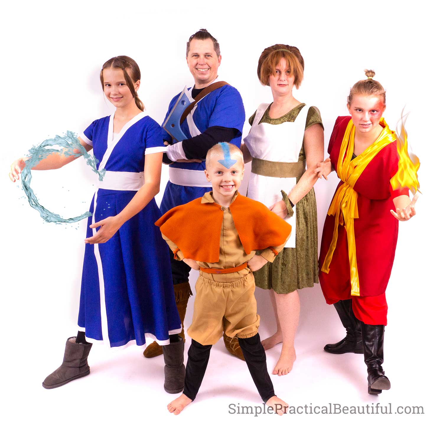 Avatar the Last Airbender characters cosplay