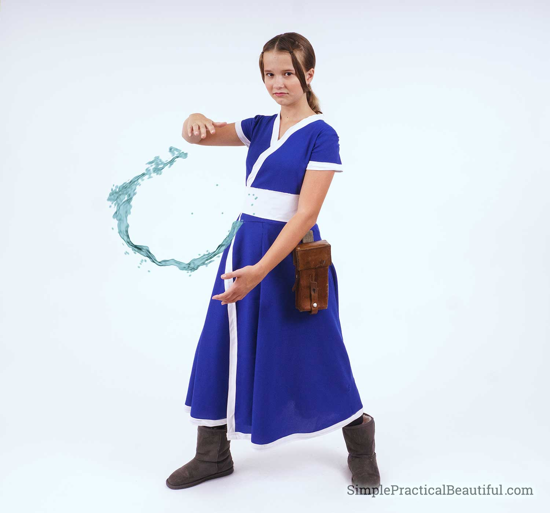 Katara waterbender costume
