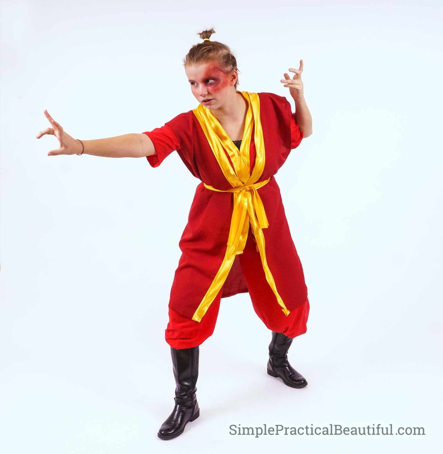 Zuko the Firebender Costume
